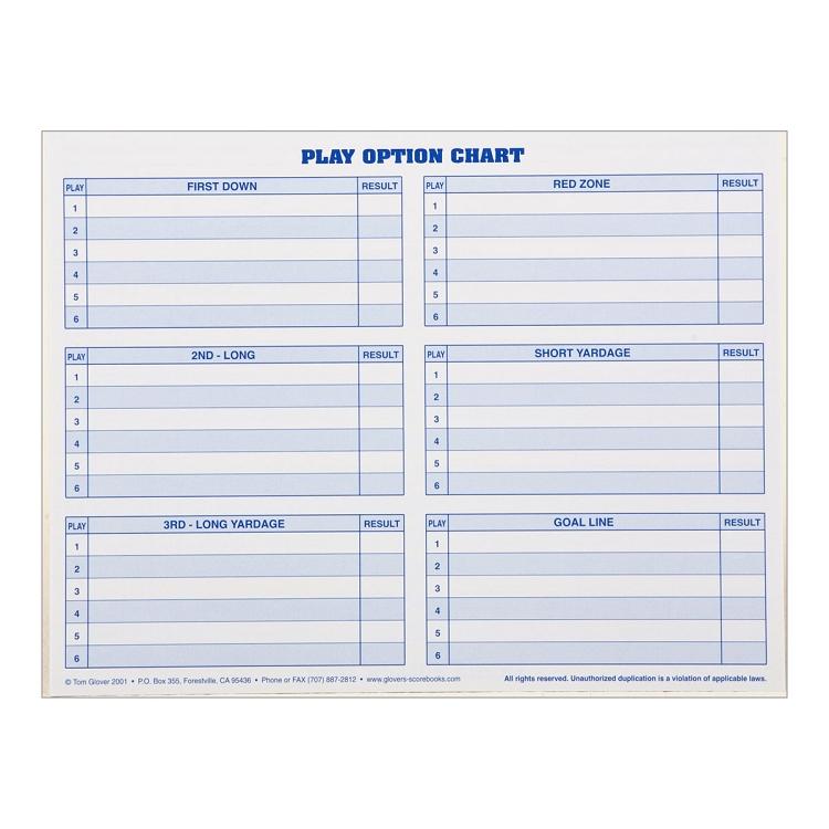 Football Play Chart Lifestyle Intech