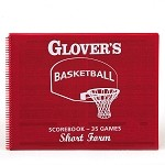 Glover's Basketball Shortform Scorebook (35 Games)